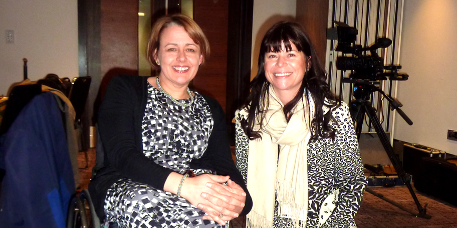 Perfect Closing Keynote from Baroness Tanni Grey-Thompson with Jo Jones