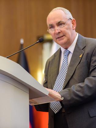 President Ricardo Baretzky